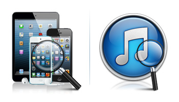 Recover data from iOS Devices directly and iTunes Backup