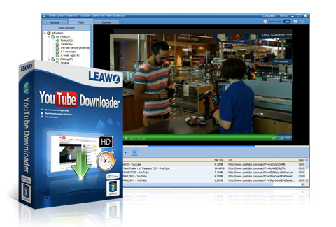 Leawo YouTube Downloader